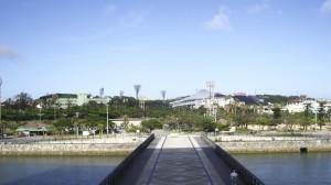 スポーツ施設が点在する奥武山公園。公園内には2つの神社もある/写真4