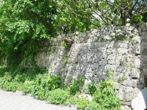 写真4/新得前門の石垣