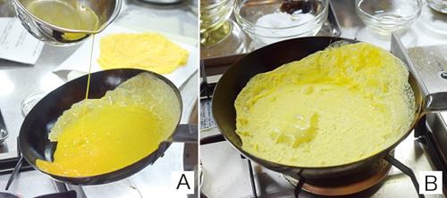 薄焼き卵の作り方