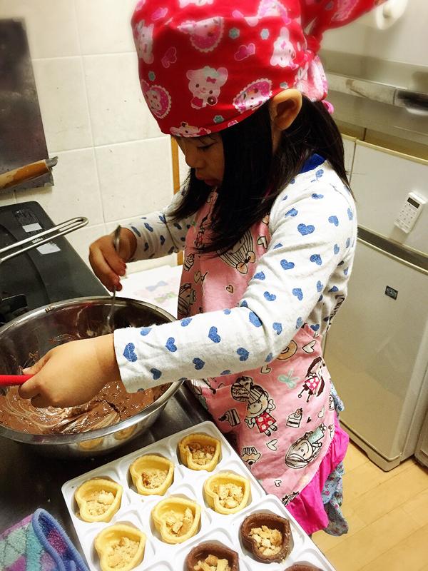 娘とお料理