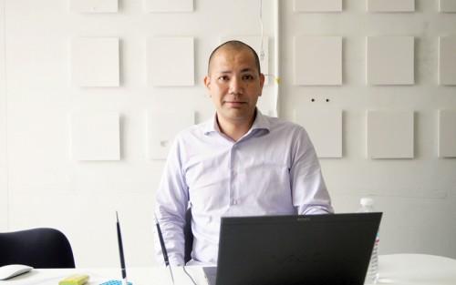 不動産会社ディ・スペック代表取締役の古謝淳也さん