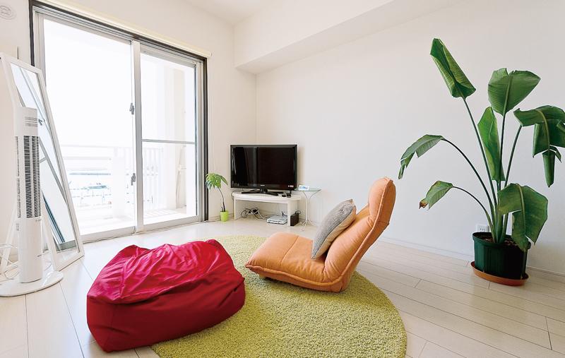 LDK横の個室。家族や友人用のゲストルーム
