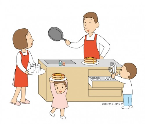 子どもが安心して自立。ストレスが減る