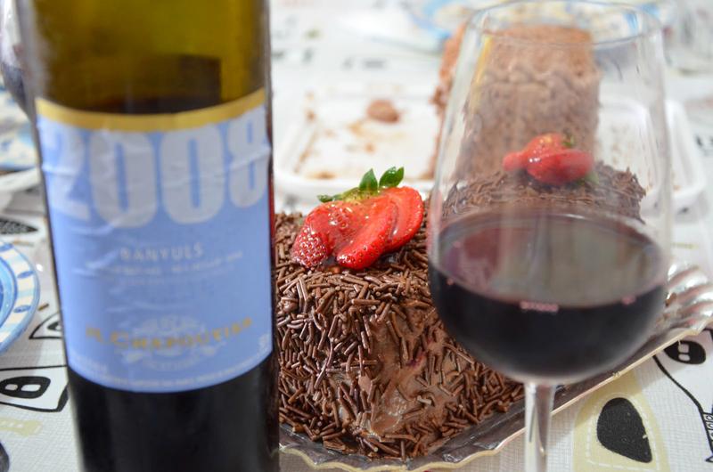 チョコレートとワインは、相性がいい