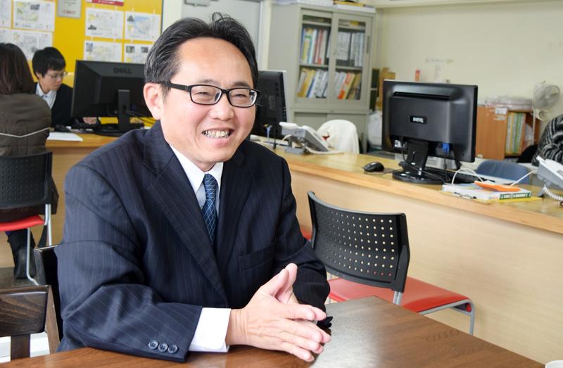 オレンジホーム(株)代表取締役 志堅原隆さん