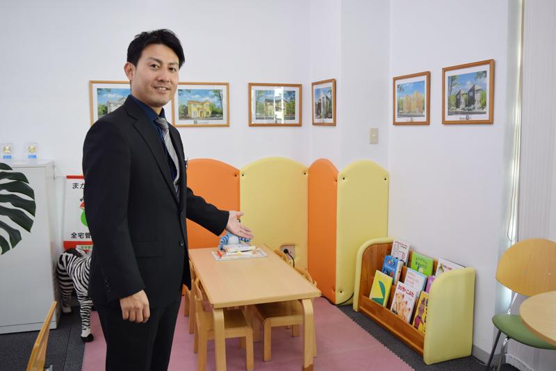 (株)東洋ハウジング課長 高良政也さん