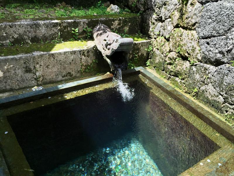 瑞泉の水は湧き水と証明されました