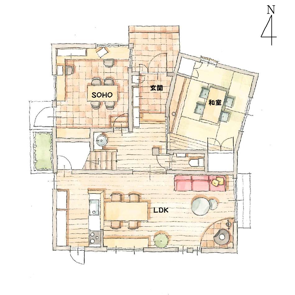 1階平面図