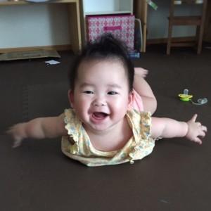 子どもの笑顔は、最高のお手本です!